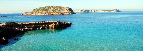 Ibiza offers stunning sea views all year round