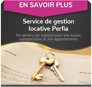 vente de local commercial avec Perfia