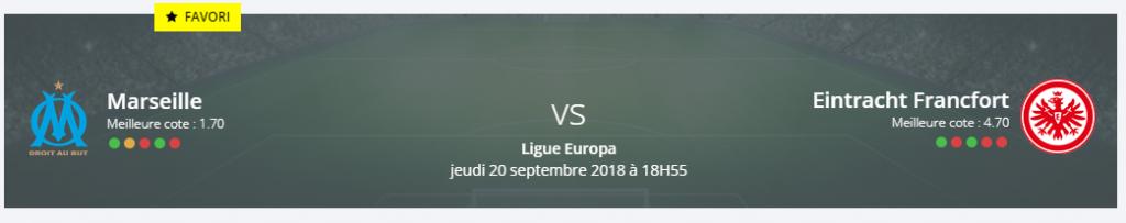 Marseille rencontrera bientôt Francfort en Ligue Europa : lancez vos pronos!